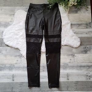 Hot Kiss Faux Leather Leggings